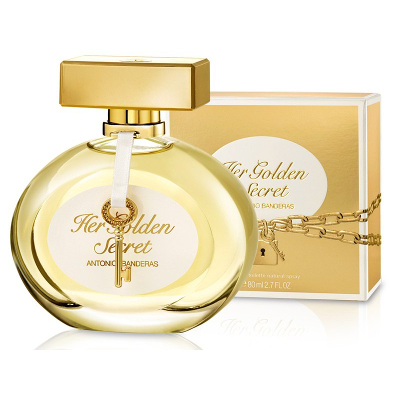 Antonio Banderas Her Golden secret, 80 ml фото